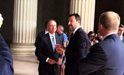 Lapsus di Salvini al Mall di Washington: e la scala di Rocky?