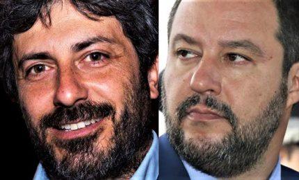 """Migranti e rom, Fico guasta la festa. E Salvini sbotta: """"M'ha fatto girare le scatole"""""""
