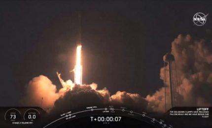 Successo parziale per il terzo lancio del Falcon Heavy