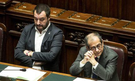 """Salvini contro Tria: """"Manovra da robetta, con Conte vuole fermarsi a 2% deficit/Pil"""""""