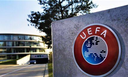 Uefa, in caso di stop valgono le classifiche attuali