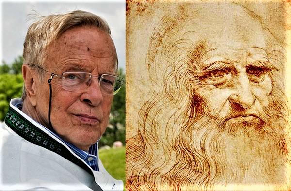 Tre anni fa, Zeffirelli scopri di essere discentente di Leonardo da Vinci