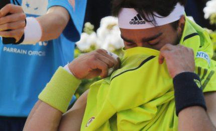 """Maledetti! Scoppiasse bomba"", furia Fognini a Wimbledon"