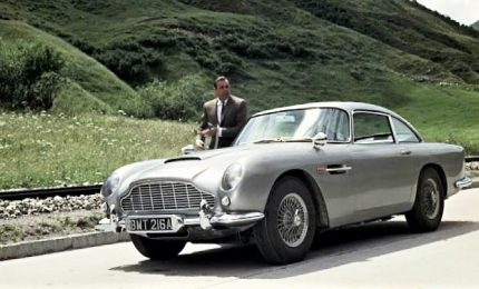 All'asta la Aston Martin Db5 di James Bond da record