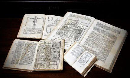 A Fano 5 disegni originali di Leonardo