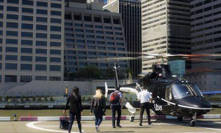 Uber lancia il suo primo servizio in elicottero a New York