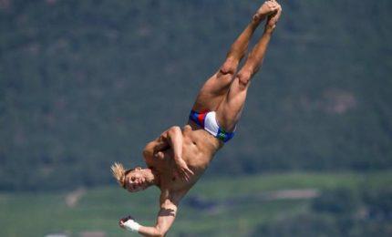 Dai tuffi la prima medaglia, bronzo del 25enne Auber