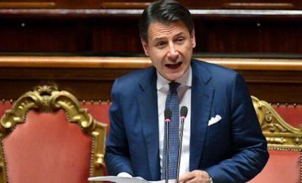 """Senato, Conte attacca su Russia. E Salvini lo accusa: """"Cerca voti per nuova maggioranza"""""""