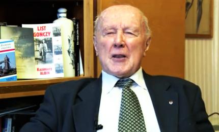 Morto Kazimierz Albin, sopravvisse ad Auschwitz grazie al tedesco