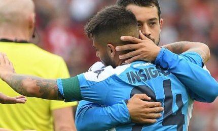 Il Napoli brilla, Mertens-Milik stendono il Liverpool