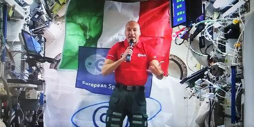Luca Parmitano, dallo Spazio un grido d'allarme per il pianeta