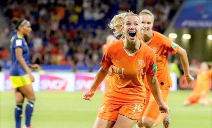 Mondiali donne: 1-0 alla Svezia, l'Olanda in finale con Usa