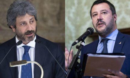 Salvini attacca Fico, su dl Sicurezza c'è problema politico con M5s