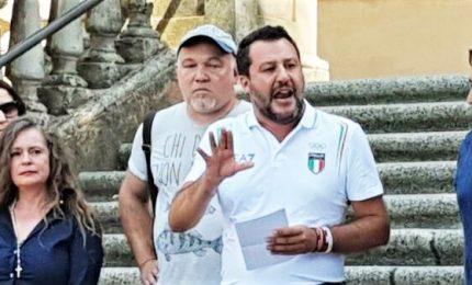 Salvini a Bibbiano: non avrò pace finché l'ultimo ultimo bimbo non sarà a casa