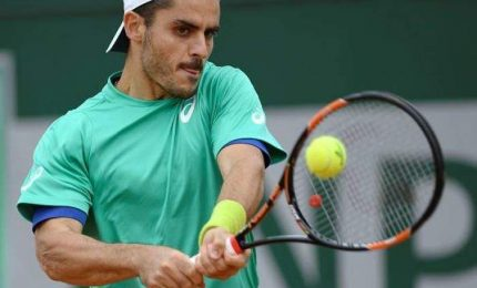 Finisce sogno di Fabbiano, Djokovic avanza