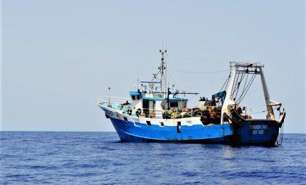 Sequestrato peschereccio italiano nel golfo della Sirte