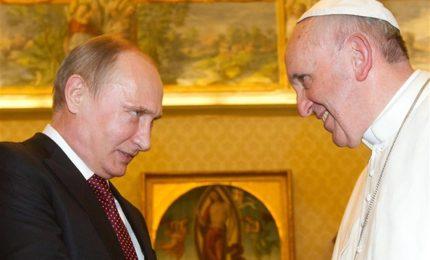 Putin incontra il Papa in Vaticano. Intesa Bambin Gesù-Ospedali pediatrici Russia