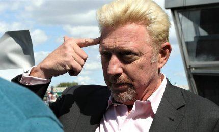 Trofei e altri cimeli di Boris Becker all'asta per pagare debiti