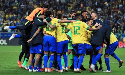 Brasile rompe digiuno, nono successo