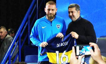 Argentina, la presentazione di Daniele De Rossi al Boca Junior