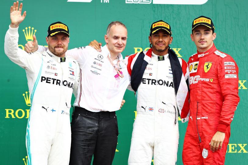 Hamilton re a Silverstone, terzo Leclerc. Crisi Vettel