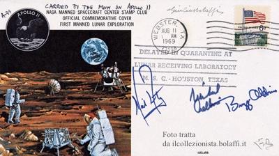 La Luna 50 anni dopo: i cosmogrammi e il collezionismo spaziale