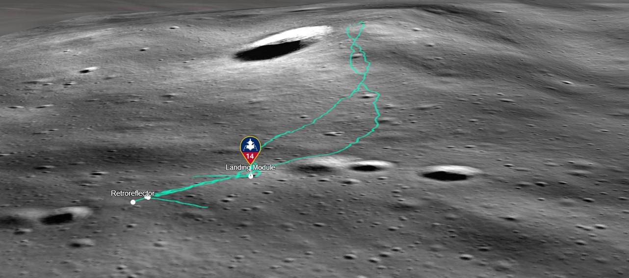Luna, i luoghi della missione raccontati attraverso le mappe