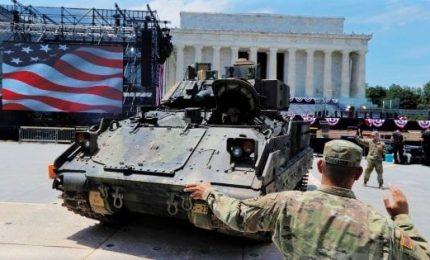 4 luglio, polemica per la parata militare voluta da Trump