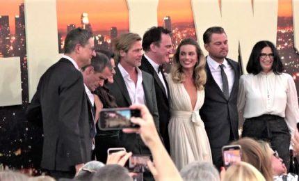 Pitt, DiCaprio e Margot Robbie: tutti a Los Angeles per Tarantino