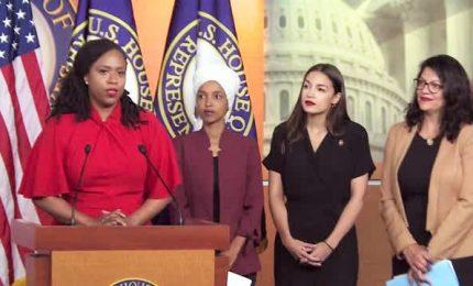 Tweet razzisti di Trump, quattro parlamentari al contrattacco