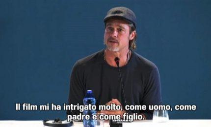 """Brad Pitt: """"Ad Astra"""" mi interessava come uomo, padre, figlio"""