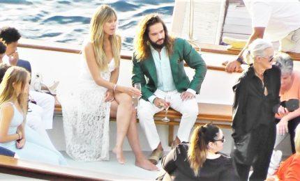 Matrimonio da favola a Capri per Heidi Klum e Tom Kaulitz