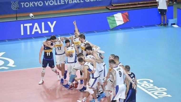 L'Italvolley batte 3-0 la Serbia e va alle Olimpiadi di Tokyo