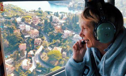 La mamma di Mirko Vicini in volo sopra il Ponte Morandi