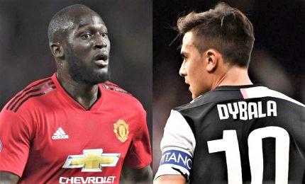 Juve-United si stringe per Dybala-Lukaku