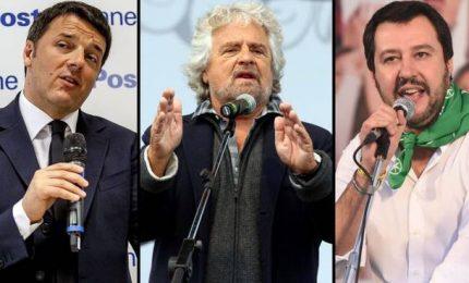 L'assist dell'ingenuo Salvini ai politici Renzi e Grillo