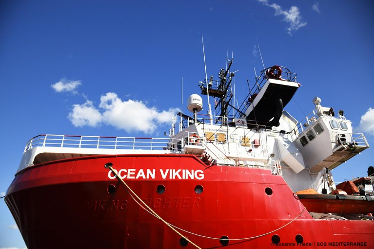 A Ocean Viking assegnato il porto di Messina