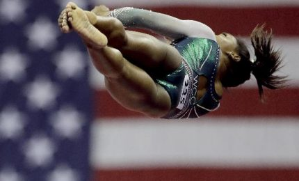Simone Biles nella storia, doppio salto mortale mai realizzato
