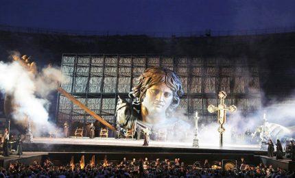 Grande attesa per il ritorno della Tosca all'Arena di Verona