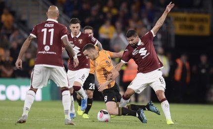 Wolverhampton vince 2-1, Torino fuori da Europa League