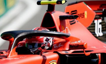 A Spa prima fila tutta Ferrari, Leclerc in pole