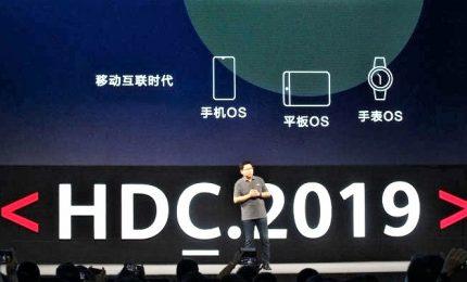 Huawei svela HarmonyOS, sistema operativo concorrente di Android