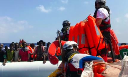 Due barconi con 136 migranri sbarcati a Lampadusa