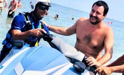"""Moto d'acqua Ps, Salvini: """"Poliziotti indagati? Se devo pagare pago io"""""""