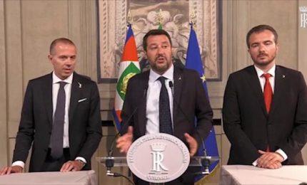 Salvini: no a giochini palazzo, via maestra elezioni subito