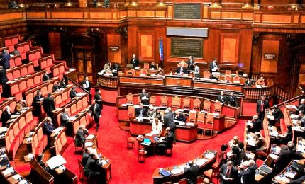Coronavirus, in Aula Senato solo 161 senatori