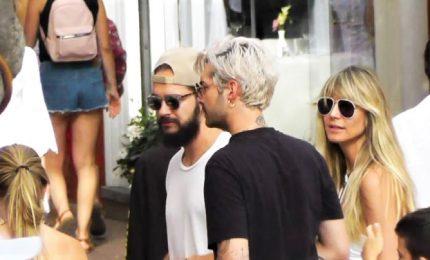 Heidi Klum e Tom Kaulitz a Capri, relax prima della festa nuziale