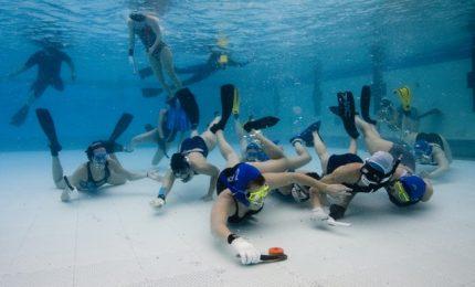 Octopush, alla scoperta dell'hockey subacqueo