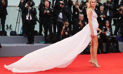 Chiara Ferragni star sul red carpet con Fedez