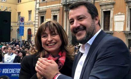 """Salvini punta su Tesei per """"primo schiaffone a governo"""""""